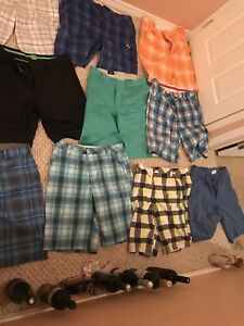 Brand name men's shorts and golf shorts