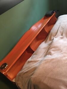 Double bed real wood