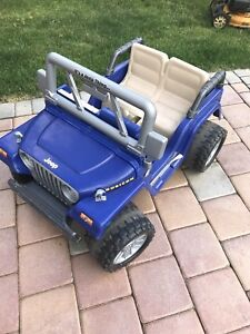 Kids Rideable Jeep