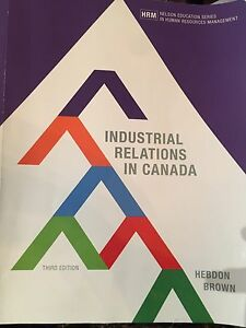 Industrial relations textbook MUN. Busi 4330