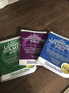 Lsat full package studying guide + kaplan course for june