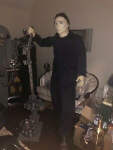Brand new Michael Myers Halloween moving and sound animatronic