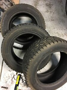 215/55R16 Hankook Winter iPike studdable tires