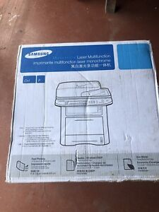 Brand new never used Samsung Laser Printer and copier