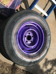 Napa sr 700 red line tires and chevy rims 5 on 4 3/4