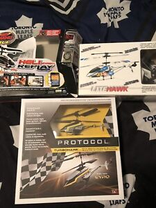 Scrap r/c Helicopters