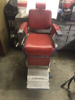 1960's BELMONT BARBER  CHAIR