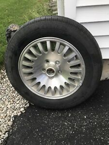 Pirelli spare tire and rim JAGUAR xj6 p225 60 r16