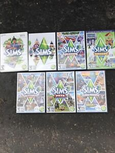 The Sims3 starter pack and games