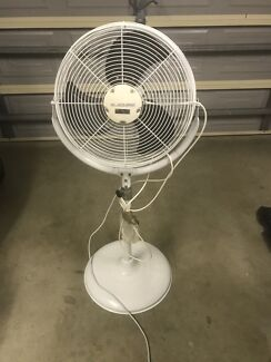 High speed industrial water mist fan