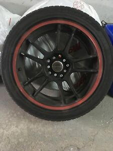 Rims & tires - Tenzo R with 215/45 R17 tires