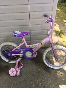 Girls Huffy Princess Bike