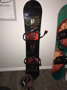 Men's/boys K2 Snowboard