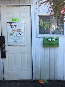 The Shed and Fly: Reptile Rescue!