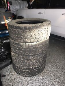 Toyo Open Country A/T LT295/60R20