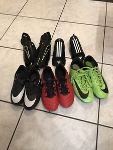 Youth Nike Soccer Shoes & Shin Guards