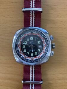 Vintage Rally World Timer Watch