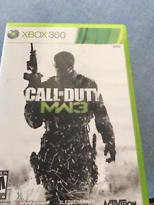 Call of Duty Modern Warfare 3 and Ghosts(Xbox 360)