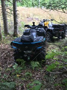 Can-am outlander 1000xr speed demon 189 kilometres