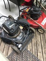 Two gas Lawnmowers for parts or fix $30 for both