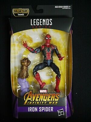 SPIDER-MAN MARVEL LEGENDS AVENGERS INFINITY WARS BEST 2019 THANOS ACTION