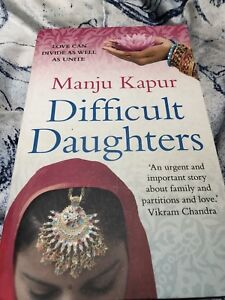 Difficult Daughters By Manju Kapoor