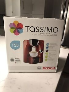 Red Tassimo for sale, new condition