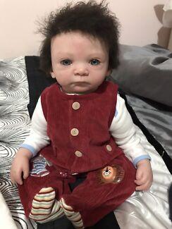 "Reborn Baby Boy! Lifelike Doll 20""in time for Xmas"