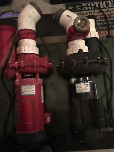 HOT TUB PUMPS AND MOTHER BOARD