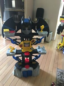 FISHER PRICE Imaginext Transforming Batcave