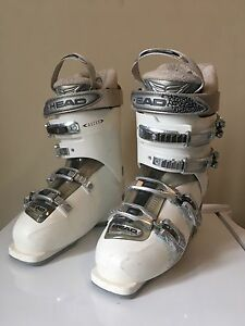 *USED* HEAD women's size 8 ski boots