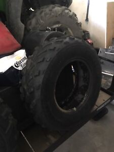 Atv tires  $75 for all 4 obo
