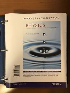 Physics for Scientists and Engineers 4E (UTSC/UofT) *Available*