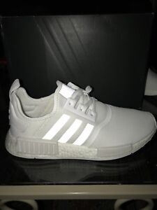 Adidas NMD R1 Triple White Size 11