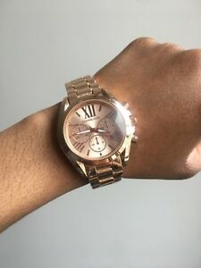 Bradshaw Miniature  Rose Gold tone Stainless Steel Watch