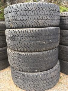 285/55r20 Michelin ltx