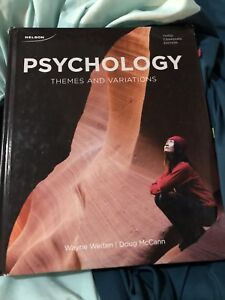 Psychology themes and variations 3rd edition Wayne Weiten