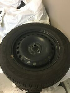Selling 4 brand new tires and rims 215/60R16