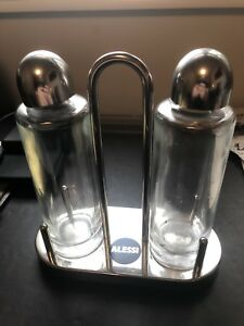Alessi oil and vinegar bottles