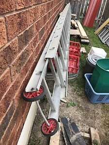 20 ft and 5ft ladder