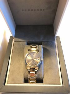 Authentic Burberry Gold Women's Watch
