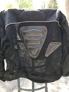 Mesh motorcycle jacket full protection XL