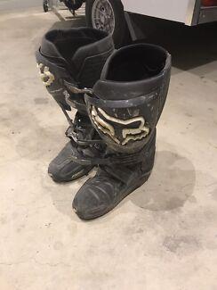 Fox instinct motocross boots size 11us