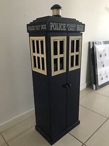 Doctor Who Wooden Box Cabinet