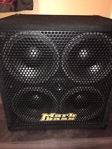 Markbass black line 4x10 bass cab
