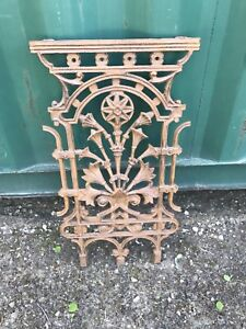 Cast iron decorative hand rail