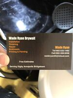 Drywall company now booking