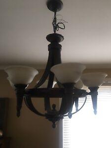 Lumiere chandaliere suspendu