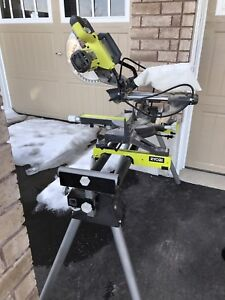 10 inch compound mitre saw and stand