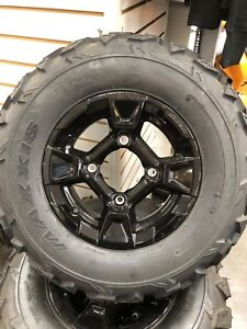 """Brand New 12"""" Can-Am Factory Take-offs with 25"""" Maxxis Tires"""